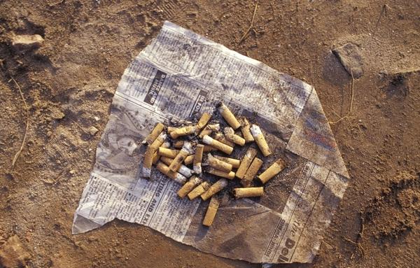 '유해폐기물' 담배꽁초, 새로운 플라스틱 자원으로 재활용