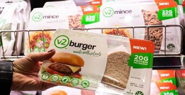 호주 대체육 브랜드 v2food, 국내 진출...